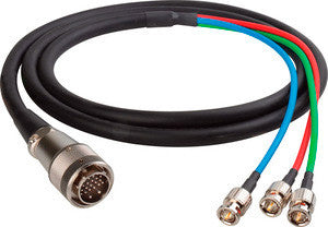 Harmonic 9-Pin to 3BNC Cable 3FT