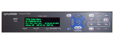 Harris CMVS-DVI Compact Monitor and Signal Generator Test Set DVI Out