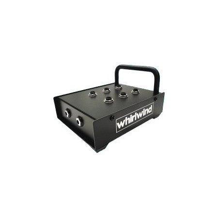 Whirlwind Stage Tough Headphone Breakout Box with 6 Jacks