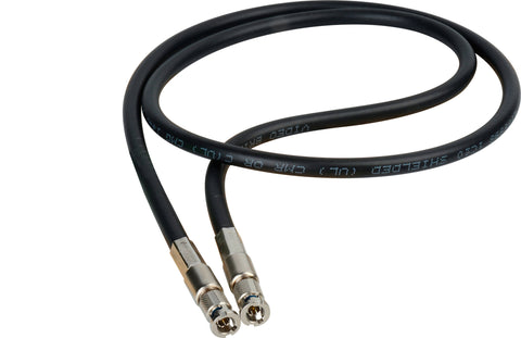 A high quality Image of Connectronics High Density HD-BNC Male to HD-BNC Male HD-SDI Cable with Belden 1694A RG6 1 Foot