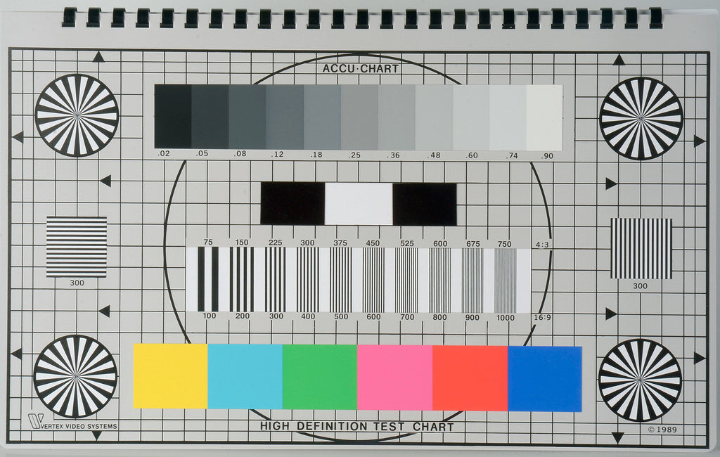 Vertex Accu-Chart HD Color Reference Chart