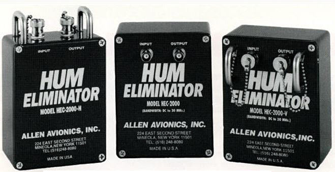 Allen Avionics 4 Channel 75 Ohm Hum Eliminator with Sync