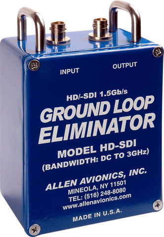A high quality Image of Allen Avionics HD-SDI Single Channel Hum Eliminator