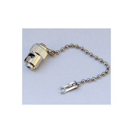 Camplex ST Fiber Connector Metal Dust Cap with Chain for Chassis