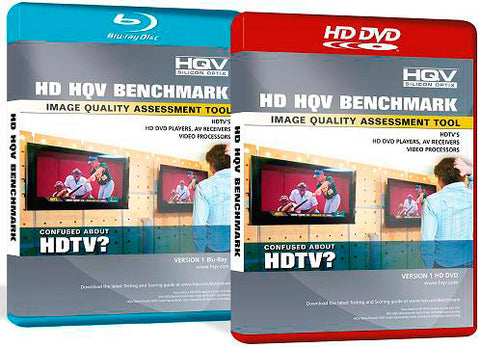 Silicon Optix HQV Benchmark HD-DVD Test Disc - NTSC