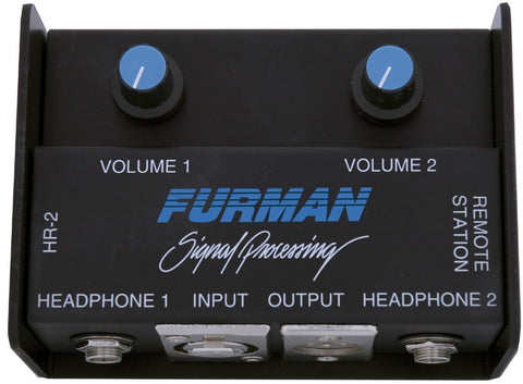 Furman HR-2 Headphone Remote Station
