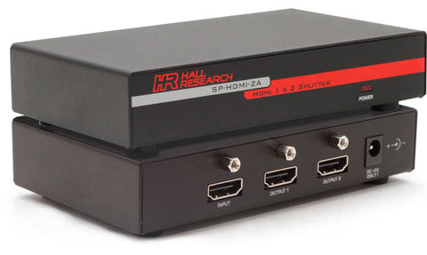 A high quality Image of Hall Research SP-HDMI-2A 2-port HDMI Video Splitter-Extender