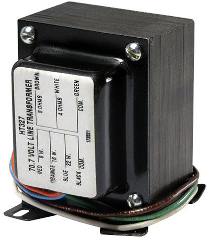 Atlas Sound HT327 High-Quality Transformer 32W (70.7V)