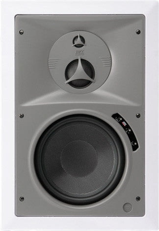 Atlas Sound HT8253W 8 Inch Premium Shielded In-wall Speaker (Pair)