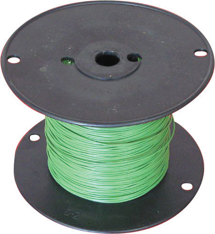 NTE Electronics 18 AWG 300V Stranded Hook-Up Wire 100FT Green