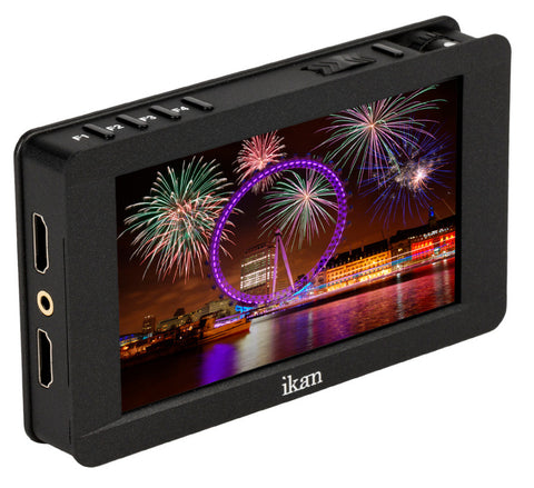 Ikan DH5E 5 Inch 4K Support HDMI On-Camera Field Monitor with Touch Screen