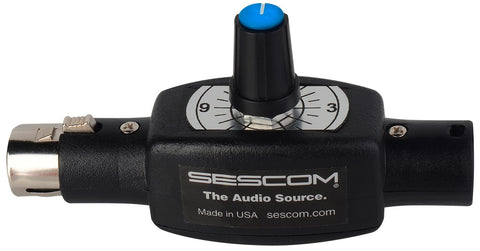 Sescom IL-LEVEL-IT 1-Channel Inline Balanced Audio Volume Control