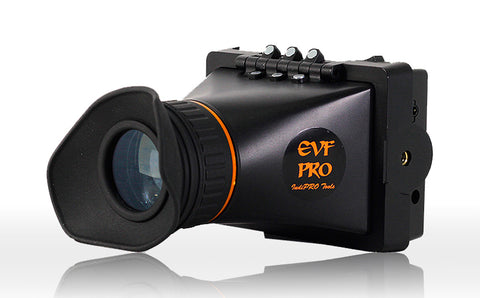 IndiPro Tools EVFPROPCGR 3.5 HD EVF with Panasonic CGR Battery Plate