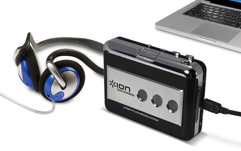 Ion Audio Tape Express Portable Tape-To-MP3 Player