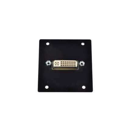 FSR IPS-V611-BLK Triple Ht. DVI-I Female Bulkhead - Black