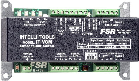 FSR IT-VCM Stereo Audio Volume Control Module - Serial