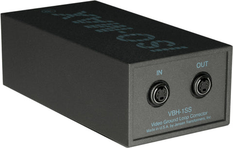 A high quality Image of Jensen VBH-1SS Video Ground Loop Corrector