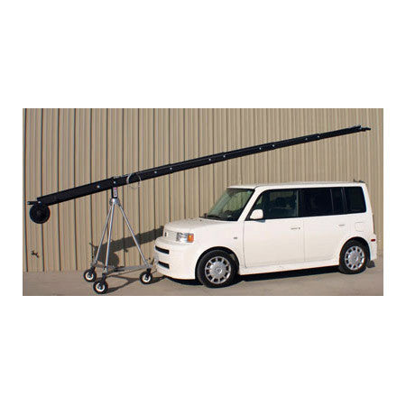 A high quality Image of JonyJib Pro 24FT Jib With LCD Mount & Mitchell Mounting Hub