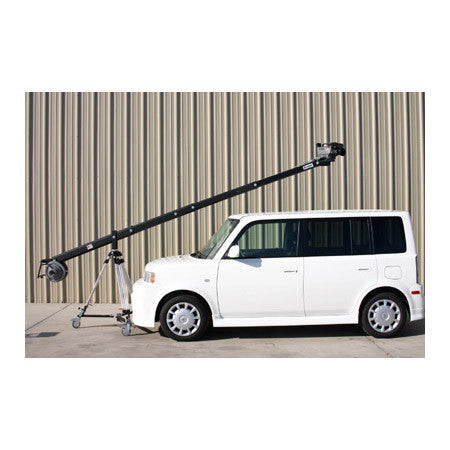 JonyJib JonyJib2 15FT Camera Jib Arm with Rear Control Center and 100mm Mounting Hub