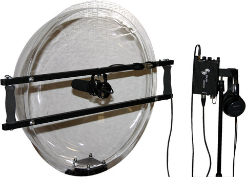 JonyJib JonyShot Parabolic 24In Clear Acrylic Dome with Isolated Mic Mount Only