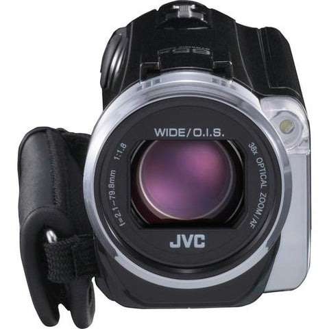 JVC GZ-EX515BUSM 1080P Everio Digital Camcorder - 3in - Touchscreen LCD - CMOS