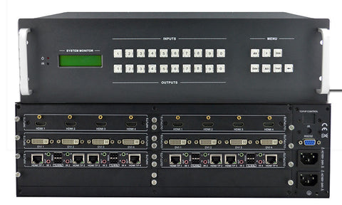 A high quality Image of KanexPro HDMMX1616A Professional 16X16 Modular Matrix Switcher