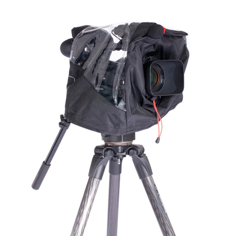 A high quality Image of Kata KT PL-VA-801-15 Rain Cover for Canon XF300 Sony F3 & Similar