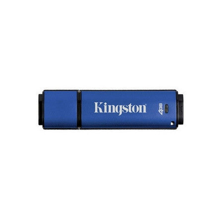 Kingston DTVP/4GB DataTraveler Vault Privacy Edition USB 2.0 Flash Drive