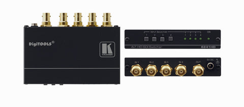 Kramer Tools 6241HD 4x1 HD-SDI Switcher