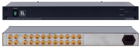 Kramer VM-20HD 1x20 or 1:10 Dual Link HD-SDI Distribution Amp