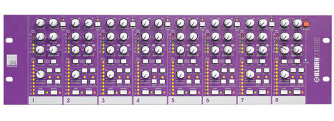 Klark Teknik SQ1D Square ONE 8-Channel Configurable Dynamics Processor