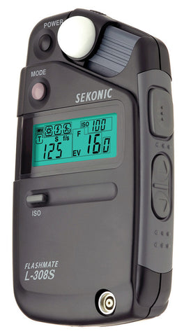 Sekonic L-308S FlashMate Light Meter w/LCD Display