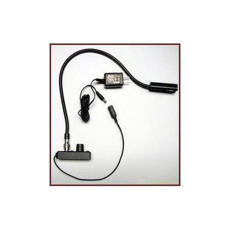 L-8/6-HI High Intensity TNC Detachable Gooseneck w/Chassis and Dimmer -6in