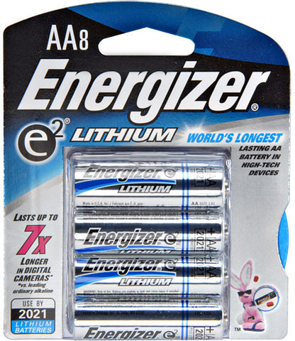 Energizer AA Lithium Battery 8-Pack