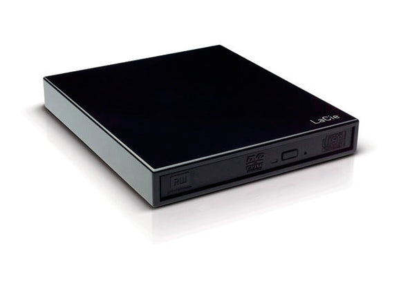 LaCie 301910 Portable Slim DVD+/-RW (USB) - Black
