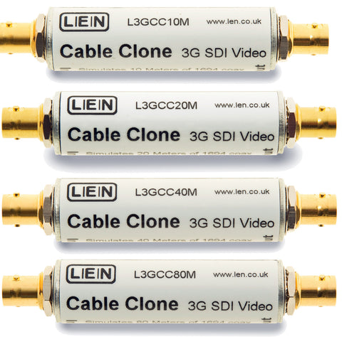 LEN L3GCC80M 3G SDI Cable Clone to Match to 80 Meters of Belden 1694A
