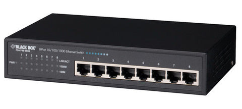 Black Box LGB2001A Pure Networking 10-/100-/1000-Mbps Switch