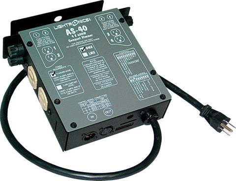 A high quality Image of Lightronics AS40D Portable Dimmer