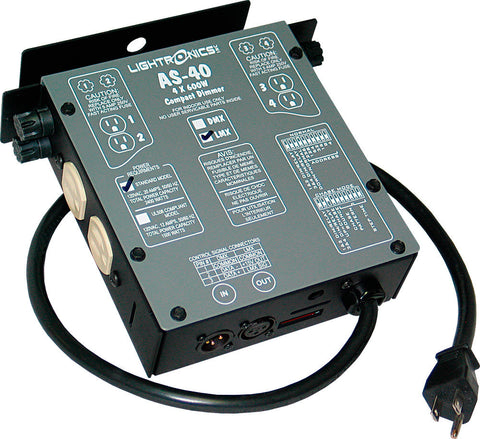 A high quality Image of Lightronics AS40L Portable Dimmer