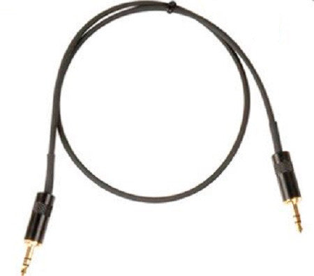 TecNec Lo-Pro Low Profile Star Quad 3.5mm Stereo Male to Female Patch Cable 6FT