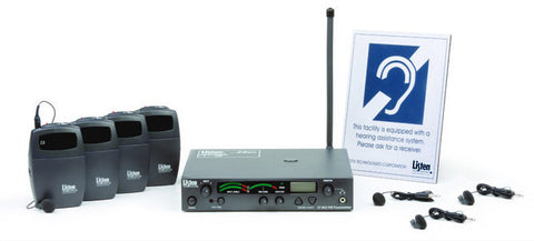 Listen LP-3CV-072 3-Channel FM Value Package (72 MHz)