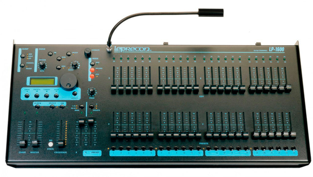 Leprecon LP-1624/48 Channel DMX Console