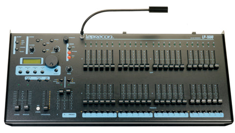 Leprecon LP-1648/96 Channel DMX Console