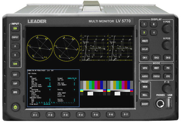 Leader Option 41 Digital Audio 16 Channels AES-EBU I/O