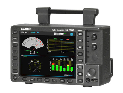 Leader LV5838 Audio Monitor