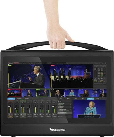 A high quality Image of Livestream Studio HD550-4K Live Production Switcher with 4K