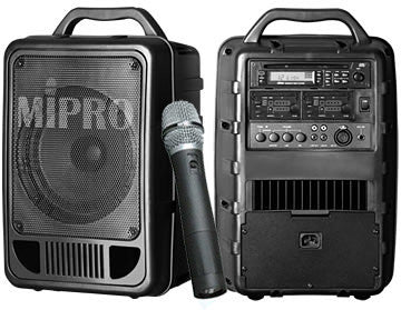 MIPRO MA-705 Portable 50W PA System Base w/8in. Full Range Speaker