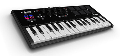 A high quality Image of M-Audio Axiom A.I.R. Mini 32 - Premium Keyboard and Pad Controller