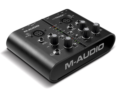 A high quality Image of M-Audio M-Track Plus Two-Channel USB Audio/MIDI Interface with Digital I/O