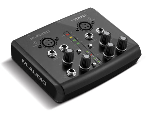 A high quality Image of M-Audio M-Track Two-Channel USB Audio/MIDI Interface